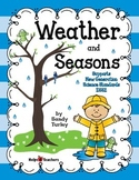NGSS Kindergarten ESS2-1: Weather and Seasons