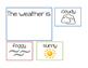 Weather and Temperature Calendar Cards