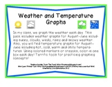 Weather and Temperature Graphs