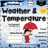 Weather and Temperature Worksheets