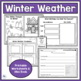 WINTER WEATHER WRITING AND SCIENCE MINI UNIT