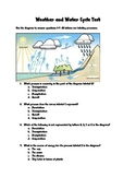 Weather and Water Cycle Test 2012