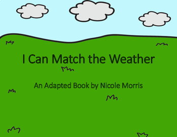 Weather and Weather Tools-An Adapted Unit! (VAAP!)
