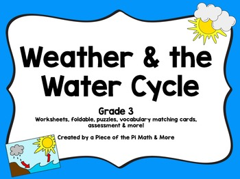 Weather and water bundle!