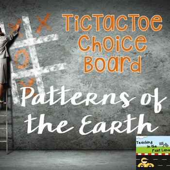 Weather and the Water Cycle TicTacToe Choice Board Extension Activities