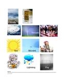 Weather by season sort