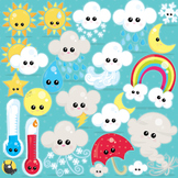 Weather clipart commercial use, vector graphics, digital - CL962