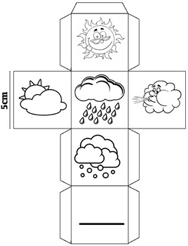 Weather cube game