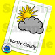 ESL Weather Flash Cards. Hot, cold, cloudy, typhoon, torna