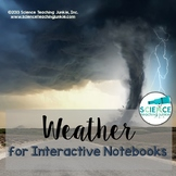 Weather for Interactive Notebooks (Distance Learning & Google Classroom)