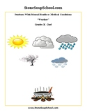 K-2 Weather for Students with Mental Health or Medical Conditions