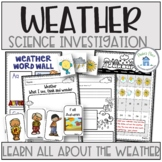 Weather Activities and Printables
