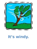 Weather in English Posters