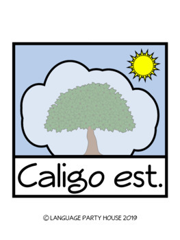 Weather in Latin Printables, Posters, and Clip Art