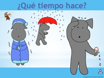 Weather in Spanish with Pepper