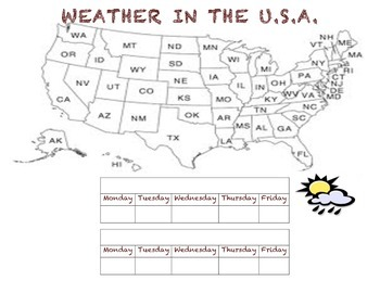 Weather in the USA