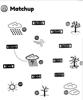 Weather match-up.
