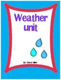 Weather math, writing and art unit
