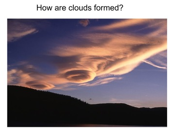 Weather pictures - clouds, seasons, disasters, tools