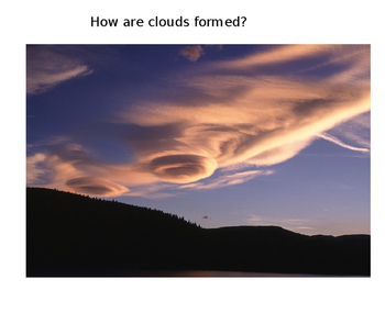 Weather pictures - clouds, seasons, disasters, tools, Powerpoint