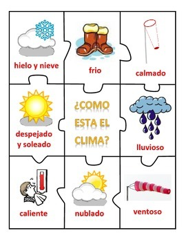 Center of The weather - English & Spanish