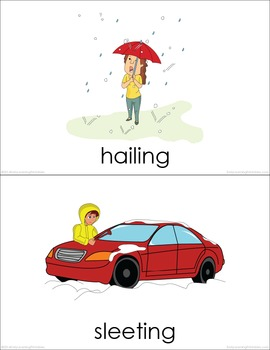 Weather (set II) Picture Flashcards