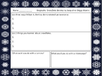 Weather  Snow   Literature for Science    Paired Text