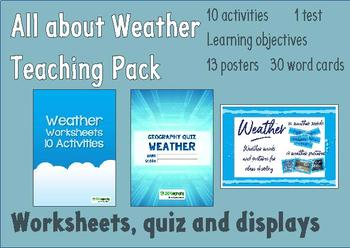 Weather teaching pack