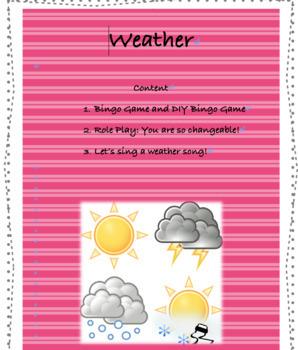 Editable Weather-themed Activities