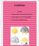 Editable Weather-themed Activities