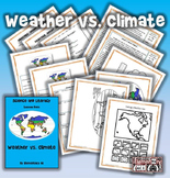 Weather vs. Climate Science and Literacy Lesson Set (TEKS)