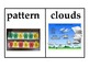 Weather word wall vocabulary