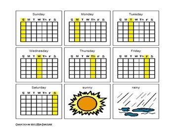 Weather/Calendar Visuals