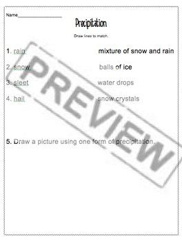 Weather/Properties Packet