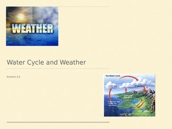 Weather/Water Cycle Powerpoint