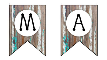Weathered Wood Banners!