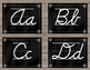 Weathered Wood Word Wall Posters Cursive