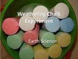 Weathering Chalk Experiment