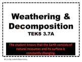 Weathering & Decomposition