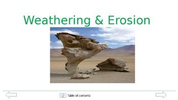 Weathering & Erosion