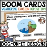 Weathering Erosion and Deposition BOOM Cards