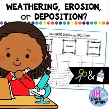 Weathering, Erosion, Deposition: Cut and Paste Sorting Activity