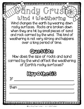 Weathering, Erosion, Deposition: Experiments, Labs, & Lab Sheets
