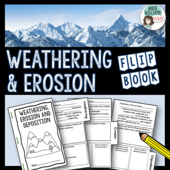 Weathering and Erosion Flip Book