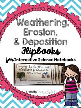Weathering, Erosion & Deposition Flipbook  (Interactive No