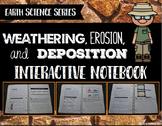 Weathering, Erosion, Deposition Interactive Notebook - Ear