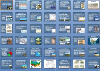 Weathering Erosion Deposition Landscapes Smartboard Notebook Lesson