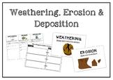 Weathering, Erosion & Deposition - Mini Lesson