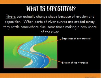 Weathering, Erosion, & Deposition Presentation - Earth Science Series