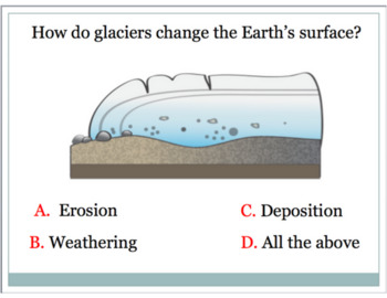 Weathering, Erosion, Deposition PP; Facts, Fun and Application